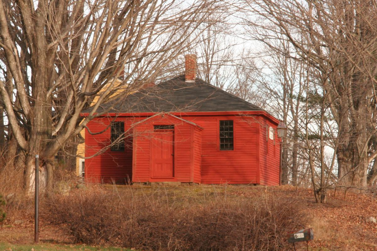 North District Red Schoolhouse