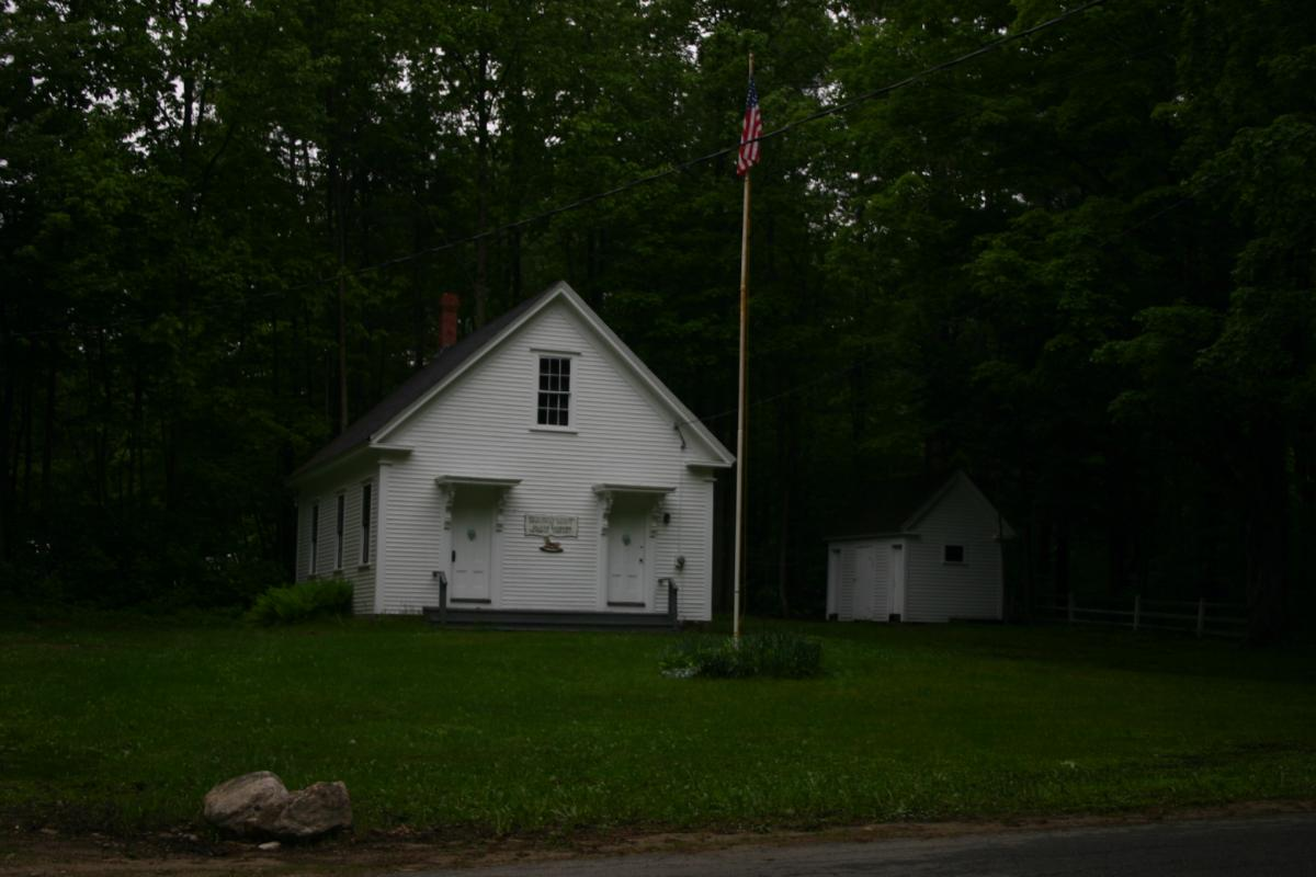 The White Schoolhouse - Sanborn Library